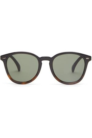 Le Specs Bandwagon Acetate Round Sunglasses - Womens