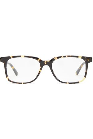 Bottega Veneta Square Tortoiseshell-acetate Glasses - Mens - Tortoiseshell