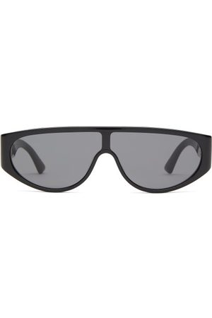 Bottega Veneta Shield Acetate Sunglasses - Mens