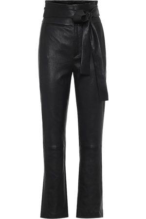 Stouls Katousha high-rise leather pants