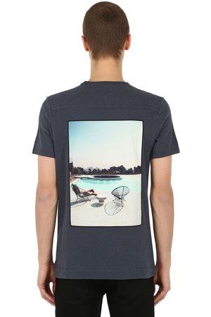 Limitato Relax Patch Cotton Jersey T-shirt