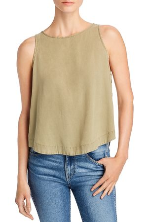 Bella Dahl Women Tank Tops - Side-Button Tank