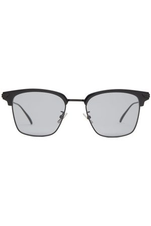 Bottega Veneta Square Metal Sunglasses - Mens