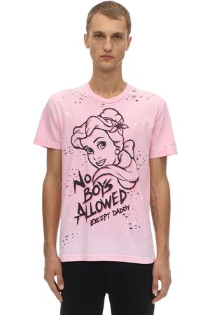 DOMREBEL Princess Destroyed Cotton Jersey T-shirt