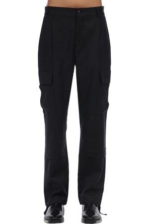Vetements Tailored Virgin Wool Cargo Pants