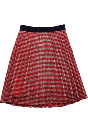 Marc Jacobs Pleated Lurex Skirt