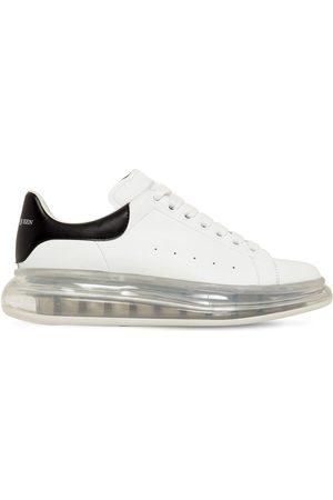 Alexander McQueen 45mm Air Sole Platform Leather Sneakers