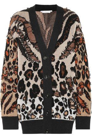 Stella McCartney Exclusive to Mytheresa – Animal-jacquard cardigan
