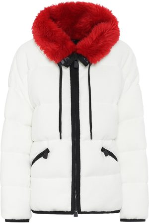 Moncler Faux fur-trimmed ski jacket