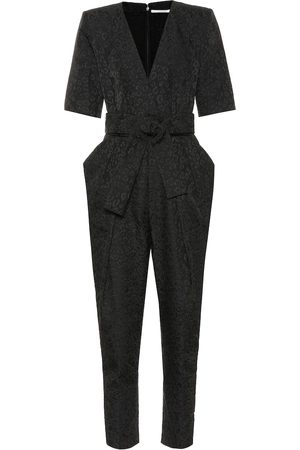 Stella McCartney Exclusive to Mytheresa – Leopard-jacquard jumpsuit
