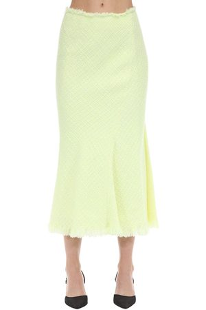Alexander Wang Chained Tweed Midi Skirt
