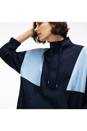 Lacoste Women's Live Colorblock Cotton Poplin Sweatshirt Dress : /