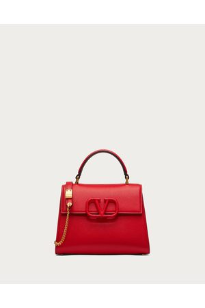 VALENTINO GARAVANI Small Vsling Grainy Calfskin Handbag Women Pure /poudre 100% Pelle Di Vitello - Bos Taurus OneSize