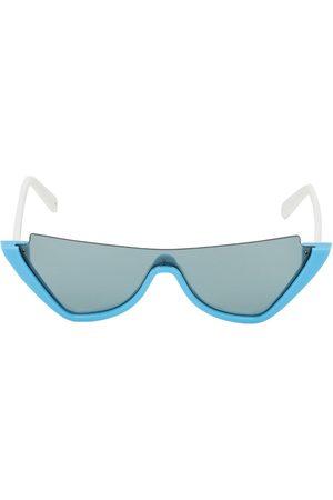 Courrèges Mask Mask Acetate Cat Eye Sunglasses
