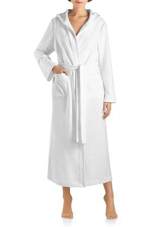 Hanro Robe Selection Plush Hooded Long Robe