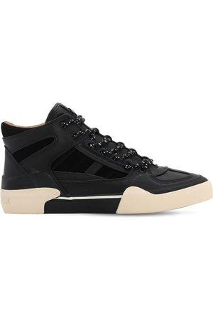 STRATICA INTERNATIONAL Elysees High Leather Sneakers