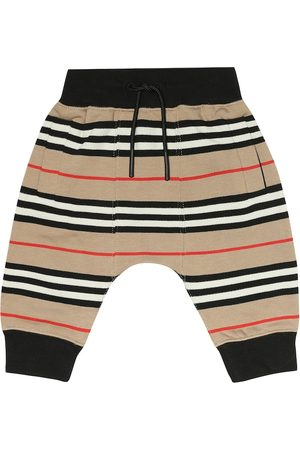Burberry Baby Lance cotton trackpants