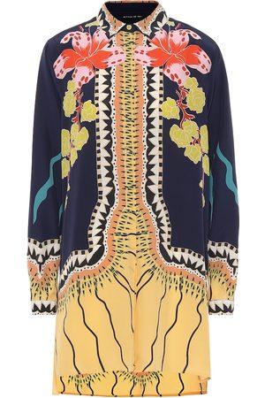 Etro Women Blouses - Printed silk blouse