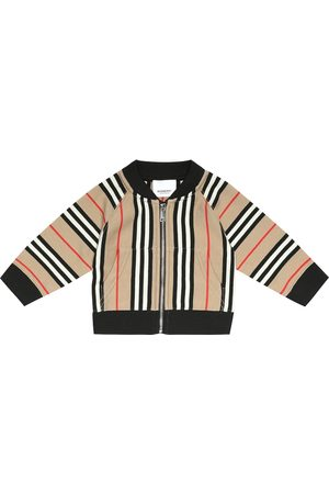 Burberry Baby Lance cotton track jacket
