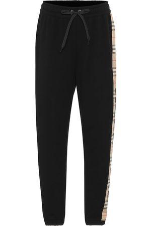 Burberry Women Sweatpants - Vintage Check cotton sweatpants