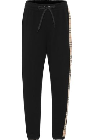 Burberry Women Tracksuits - Vintage Check cotton trackpants