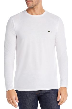 Lacoste Long-Sleeve Pima Cotton Tee