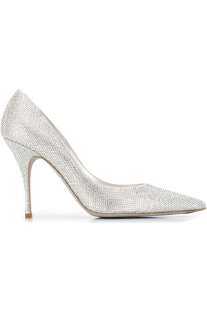 RENÉ CAOVILLA Embellished stiletto pumps
