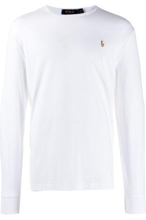 Polo Ralph Lauren Logo embroidered long-sleeve T-shirt