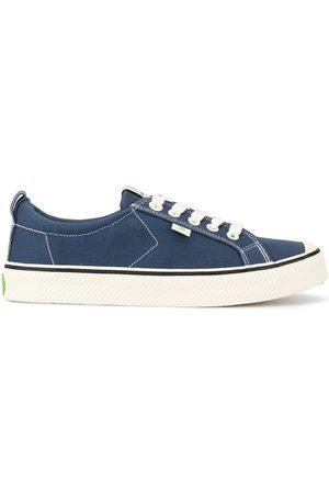 CARIUMA OCA low stripe shadow and contrast thread canvas sneakers