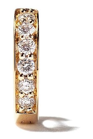 ALINKA Women Earrings - 18kt yellow IRINA diamond huggie earring