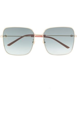 Gucci Oversized square-frame sunglasses
