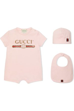 Gucci Bodysuits & All-In-Ones - Baby cotton gift set with Gucci logo