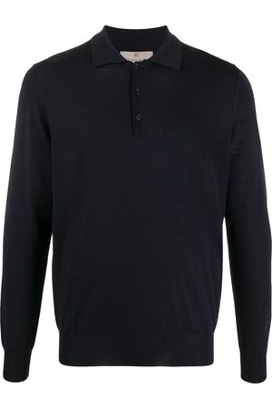 CANALI Long-sleeved polo shirt