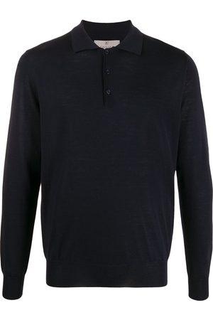 CANALI Men Polo Shirts - Long-sleeved polo shirt