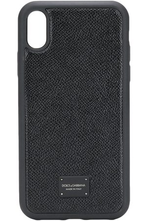 Dolce & Gabbana Men Phones Cases - Logo plaque iPhone XR case