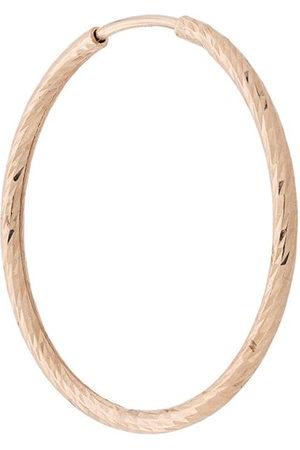 Maria Black Hoop - 14kt yellow Liv 20mm hoop earring