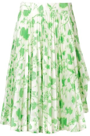 Calvin Klein 205W39nyc Women Printed Skirts - Floral print pleated skirt