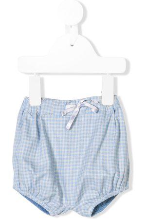KNOT Drawstring check shorts