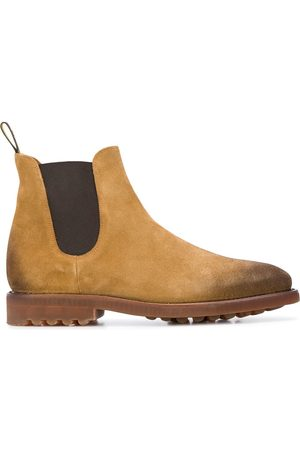 Doucal's Men Chelsea Boots - Distressed Chelsea boots - NEUTRALS
