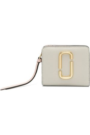 Marc Jacobs The Snapshot mini compact wallet - Neutrals