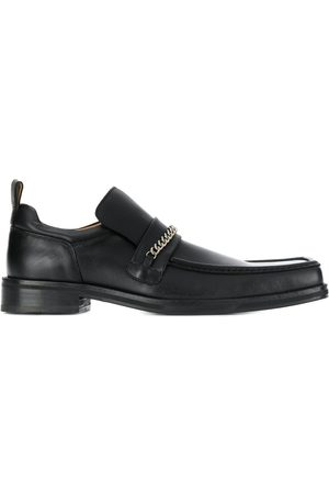 MARTINE ROSE Men Loafers - Chain trim loafers