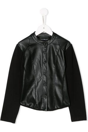 John Richmond Junior Contrasting panel jacket