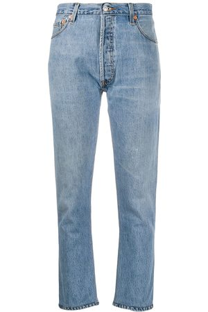 RE/DONE Women High Waisted - High-rise cropped jeans