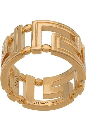 VERSACE Men Rings - Greca cut-out ring