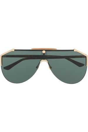 Gucci Tinted aviator-frame sunglasses