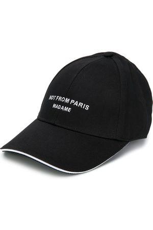 Drôle de Monsieur Script print baseball cap