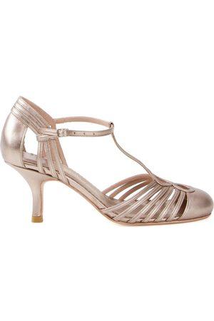Sarah Chofakian Chamonix leather sandals - Metallic