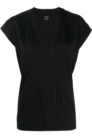 Frame Women T-shirts - V-neck T-shirt