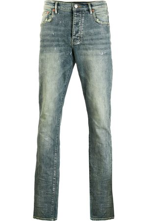 Purple Brand Distressed slim fit jeans