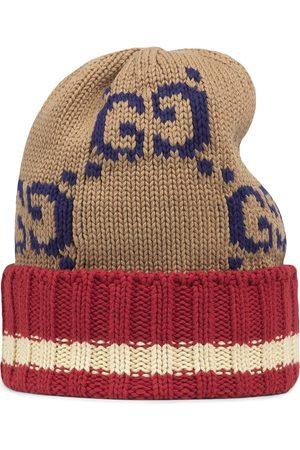 Gucci GG knitted beanie - Neutrals